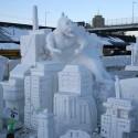 thumbs pop culture snow sculpture 19