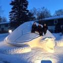 thumbs pop culture snow sculpture 21