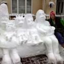 thumbs pop culture snow sculpture 23