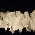 thumbs pop culture snow sculpture 30