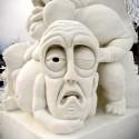 thumbs pop culture snow sculpture 36