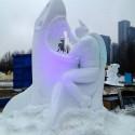 thumbs pop culture snow sculpture 37