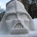 thumbs pop culture snow sculpture 40