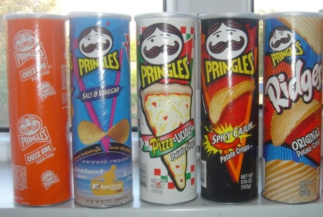 pringles flavors from around the world