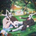 thumbs the rabbit picnic by wytrab8