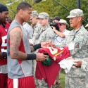 thumbs redskins military training camp 08