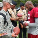 thumbs redskins military training camp 14