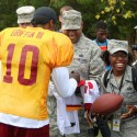 thumbs redskins military training camp 28