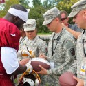 thumbs redskins military training camp 40