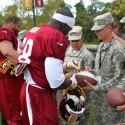 thumbs redskins military training camp 41