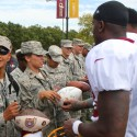 thumbs redskins military training camp 45