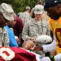 thumbs redskins military training camp 46