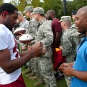 thumbs redskins military training camp 53