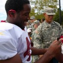 thumbs redskins military training camp 55