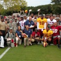 thumbs redskins military training camp 56