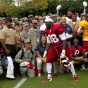 thumbs redskins military training camp 60