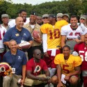 thumbs redskins military training camp 61