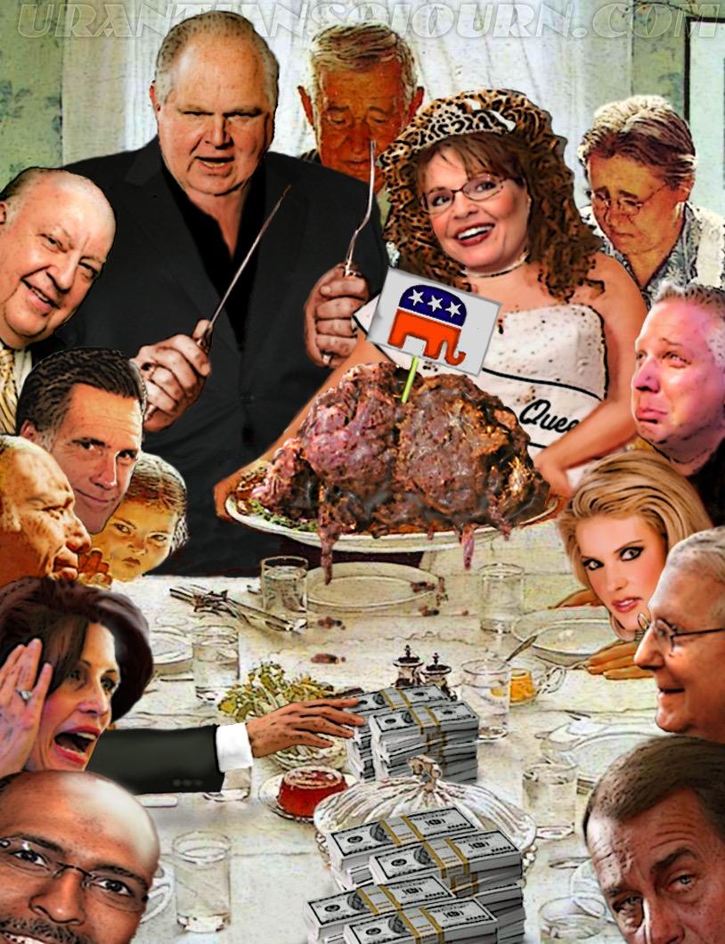 Rockwell\'s Thanksgiving Parodies