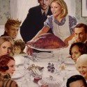 thumbs rockwell thanksgiving parody 18