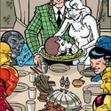 thumbs rockwell thanksgiving parody 26