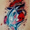 thumbs awesome shark tattoo 2