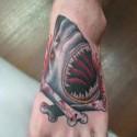 thumbs shark tattoo 007