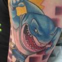 thumbs shark tattoo 084
