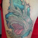 thumbs shark tattoo 097