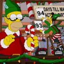 thumbs simpsons christmas 13
