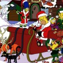 thumbs simpsons christmas 16