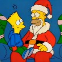 thumbs simpsons christmas 25