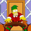 thumbs simpsons christmas 31