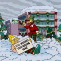 thumbs simpsons christmas 34