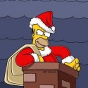 thumbs simpsons christmas 36