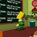 thumbs simpsons christmas 38