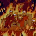 thumbs simpsons couch gag 021