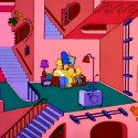 thumbs simpsons couch gag 023