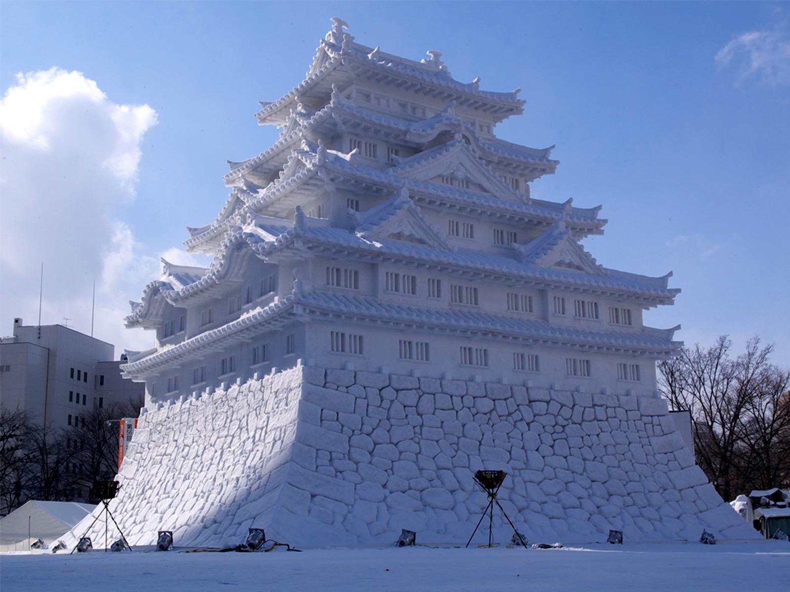 Snow, Castles and Photos on Pinterest