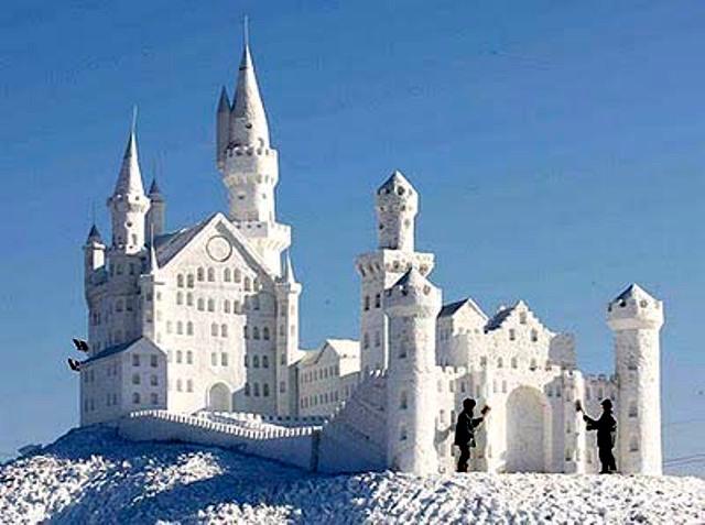 snow castle Gallery