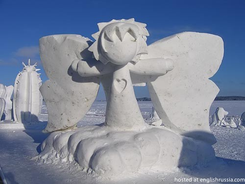 Funny Awesome Impressive And Otherwise Cool Snow Sculptures