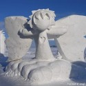 thumbs snow sculpture 1
