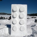 thumbs snow sculpture 11