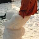 thumbs snow sculpture 14