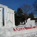thumbs snow sculpture 19