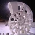 thumbs snow sculpture 21