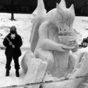 thumbs snow sculpture 26