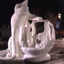 thumbs snow sculpture 27