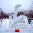 thumbs snow sculpture 31