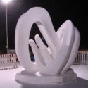 thumbs snow sculpture 35
