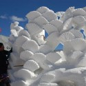 thumbs snow sculpture 45